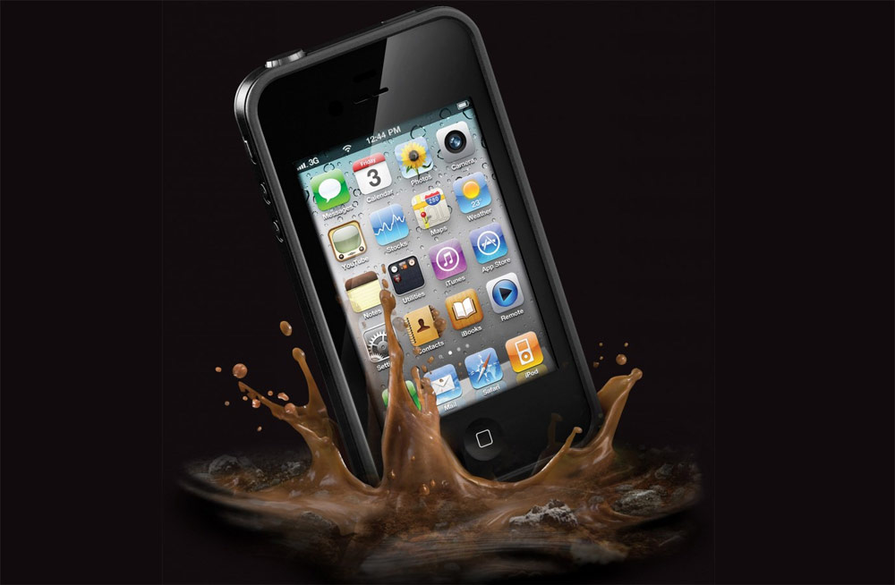 Lifeproof para iPhone 4/4S. La funda sumergible